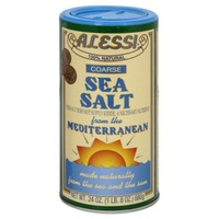 Alessi Sea Salt, All Natural, Coarse