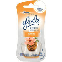 Glade PlugIns Hawaiian Breeze Scented Oil Refill