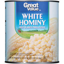 Great Value White Hominy #10