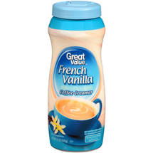 Great Value French Vanilla Coffee Creamer