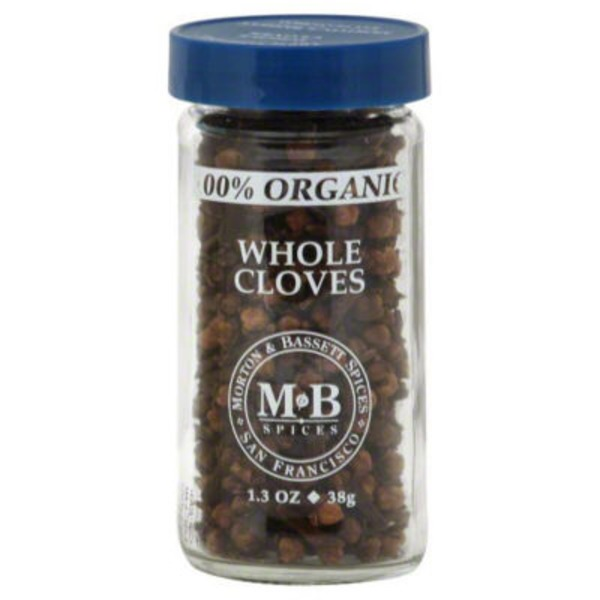 Morton & Bassett Spices Cloves, Whole