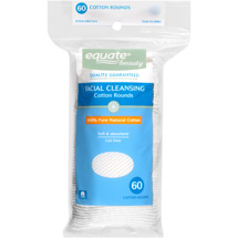 Equate Beauty Facial Cleansing Cotton Rounds