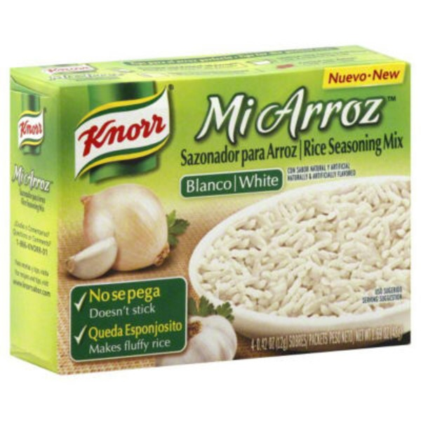 Knorr White Rice Seasoning Mix