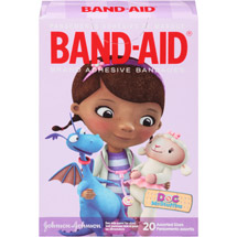 Band-Aid Doc McStuffins Assorted Sizes Adhesive Bandages