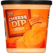 Great Value Cheddar Cheese Dip