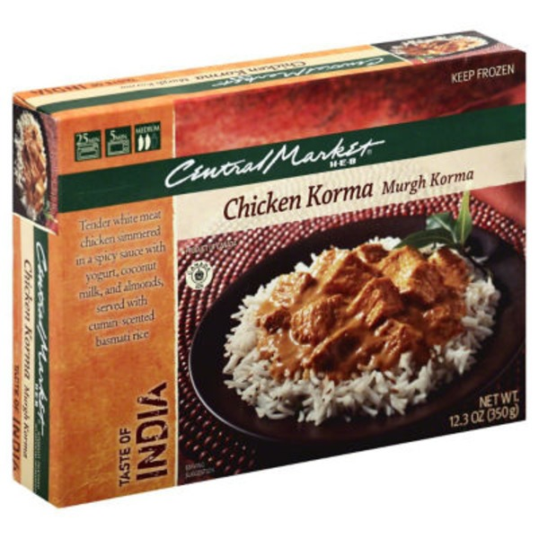 Central Market Taste Of India Chicken Korma