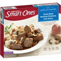 Weight Watchers Smart Ones Roast Beef Mashed Potatoes & Gravy