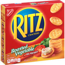 Nabisco Ritz Roasted Vegetable Crackers