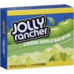 Jolly Rancher Green Apple Gelatin Mix