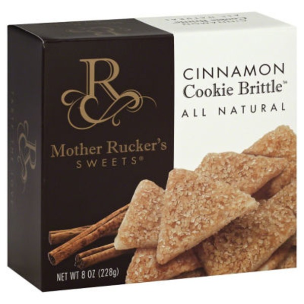 Mother Ruckers Sweets Cookie Brittle, Cinnamon