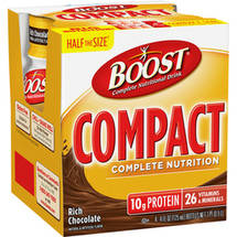 Boost Compact Complete Nutrition Rich Chocolate Complete Nutritional Drink