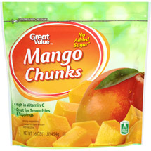 Great Value Mango Chunks