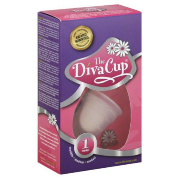 The Diva Cup Menstrual Cup, Model 1