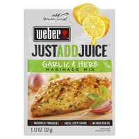 Weber Just Add Juice Marinade Mix Garlic & Herb