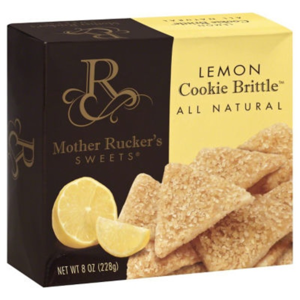 Mother Ruckers Sweets Lemon Cookie Brittle