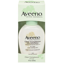 Aveeno Clear Complexion Daily Moisturizer Pump Facial Moisturizers