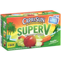 CapriSun Super V Apple Fruit & Vegetable Juice Drink