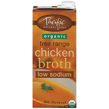 Pacific Natural Foods Organic Free Range Low Sodium Chicken Broth