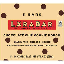 Larabar Chocolate Chip Cookie Dough Fruit & Nut Bars