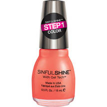 SinfulColors SinfulShine Step 1 Color Nail Color Mardi Gras