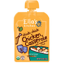 Ella's Kitchen chick-chick Chicken Casserole Stage 2 Baby Food
