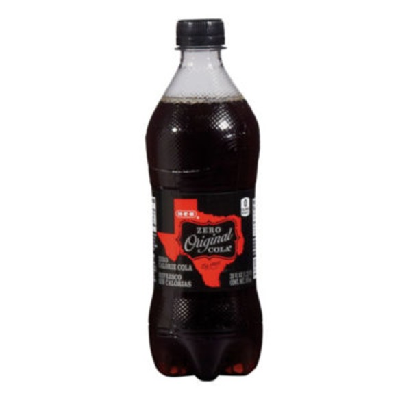 H-E-B Original Zero Calories Cola