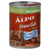 Alpo Wet Prime Cuts With Lamb & Rice in Gravy Dog Food