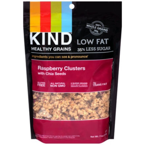 Kind Healthy Grains Raspberry with Chia Seeds Clusters