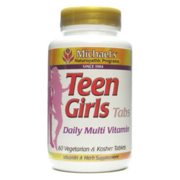 Michael's Naturopathic Programs Teen Girls Daily Multivitamin Tabs