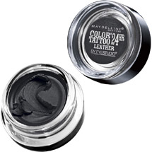 Maybelline New York Eye Studio Color Tattoo Leather 24HR Eyeshadow Dramatic Black