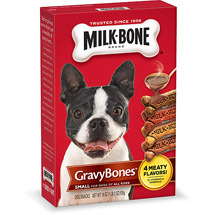Milk-Bone GravyBones Dog Biscuits - Small