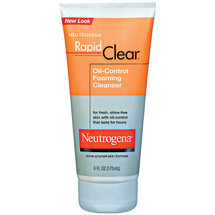 Neutrogena(R) Oil-Control Foaming Cleanser Rapid Clear(R)
