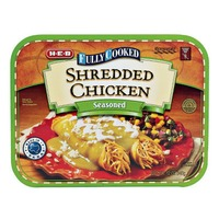 H-E-B Fully Cooked Seasoned Shredded Chicken For Fajitas