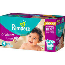 Pampers Cruisers Diapers Huge Box Size 4