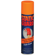 Static Guard Fresh Scent Spray