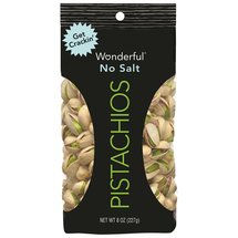 Wonderful No Salt Pistachios