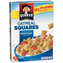 Quaker Oatmeal Squares Brown Sugar Cereal