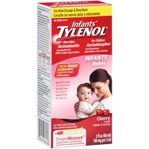 Infants' Tylenol Cherry Flavor Oral Suspension Pain Reliever-Fever Reducer