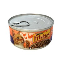 Friskies Meaty Bits Chicken Dinner in Gravy Cat Food