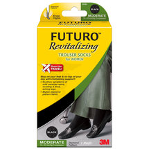 Futuro Revitalizing Trouser Socks for Women Black