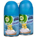 Air Wick Freshmatic Ultra Familiar Favorites Snuggle Fresh Linen Air Freshener Refills