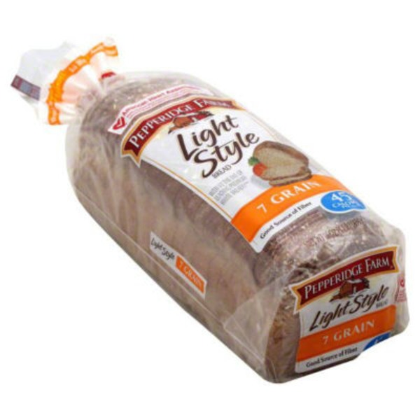 Pepperidge Farm Fresh Bakery Light Style 7 Grain Bread