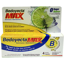 Bedoyecta Max Multivitamin Drink Mix Packets