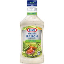 Kraft Salad Dressing: Free Ranch 16 Fl Oz