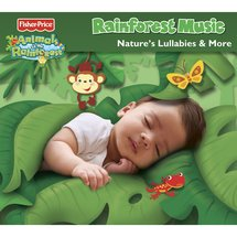 Fisher-Price Animals of the Rainforest Nature's Lullabies & More CD