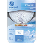 GE reveal;#194;;#174; halogen 40 watt G25 1-pack