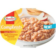 Hormel Compleats Good Mornings Apple Cinnamon Oatmeal