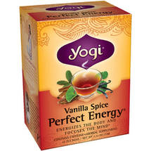 Yogi Vanilla Spice Perfect Energy Tea Bags