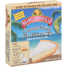 Margaritaville Coconut Cream Pie Filling Mix