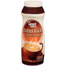 Great Value Non-Dairy Extra Rich Creamer